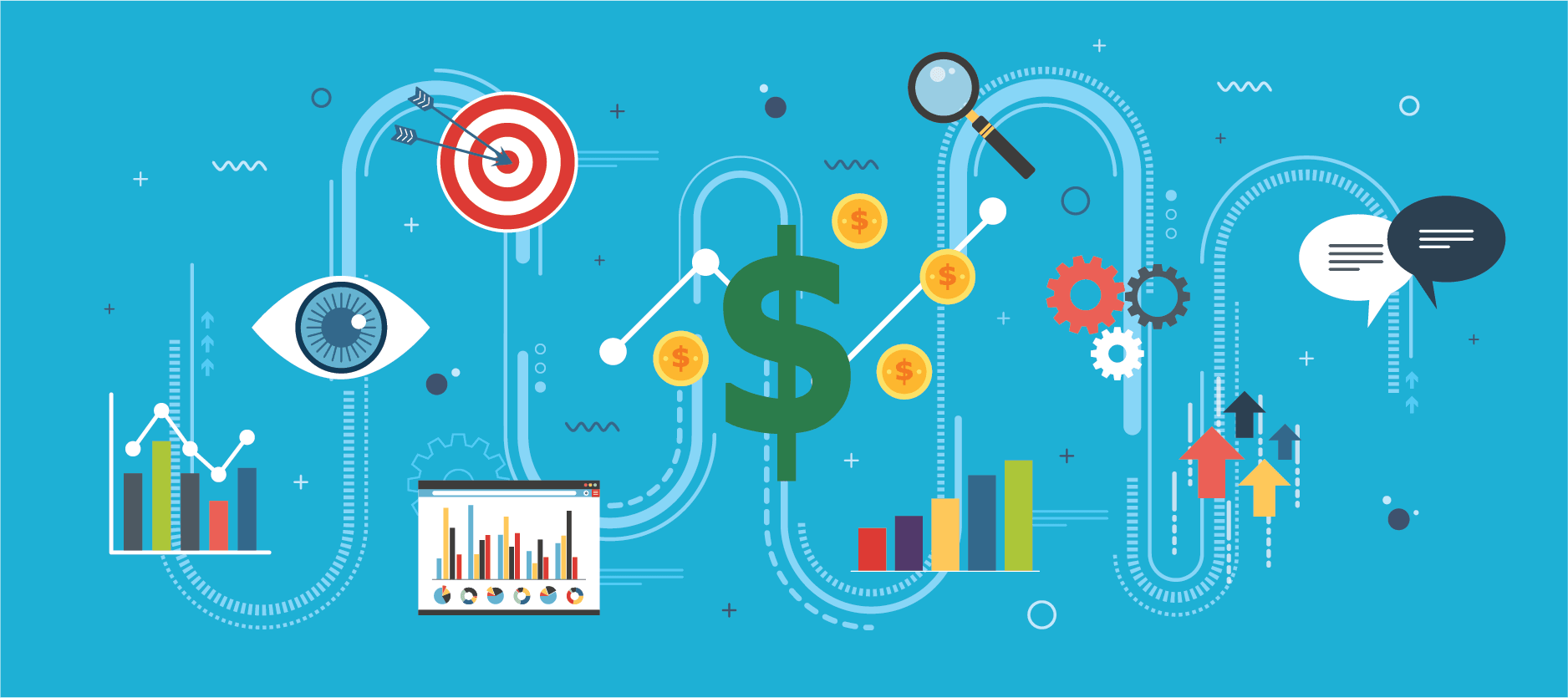 Cash flow and business intelligence for marketing companies