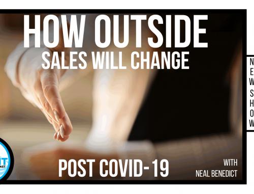 How will outside sales change post COVID-19?